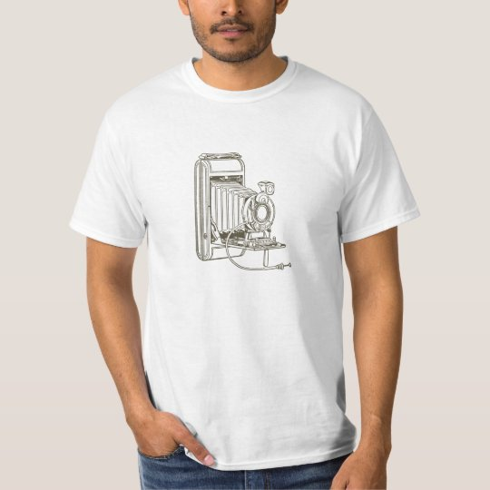Antique Film Camera Artwork T Shirt