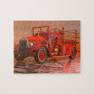 Antique Fire Engine jigsaw puzzle