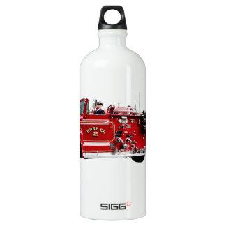 Antique Fire Engine Water Bottle