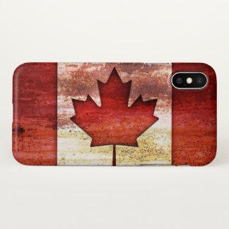 Antique Flag of Canada iPhone X Case
