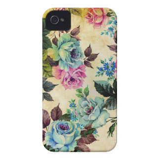 Antique Floral Blackberry Curve Case
