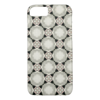 Antique Floral Kaleidoscope Circle 1920's Pattern iPhone 8/7 Case