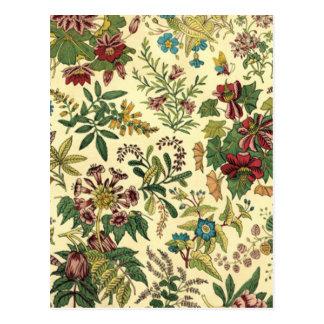 Antique Floral Postcard