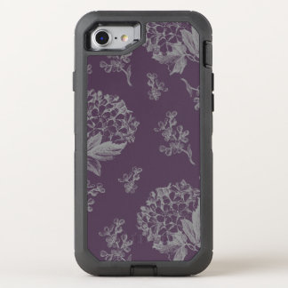 Antique Flower OtterBox Defender iPhone 8/7 Case