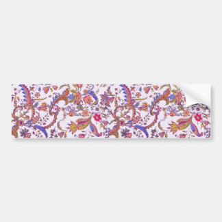 Antique Flowers ~ Bright & Cheery Bumper Sticker