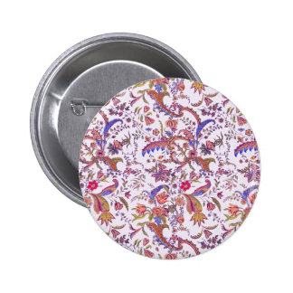 Antique Flowers ~ Bright & Cheery Pinback Buttons