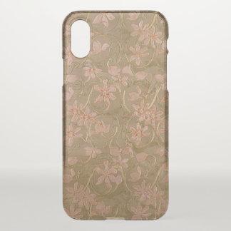 Antique Flowers (More Options) - iPhone X Case