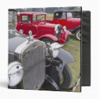 Antique Ford automobiles 3 Ring Binder