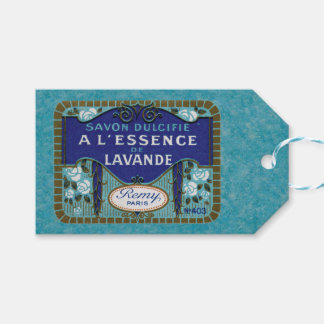 Antique French Lavender Soap Pack Of Gift Tags