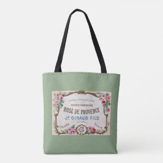 Antique French Rose Perfume Tote Bag