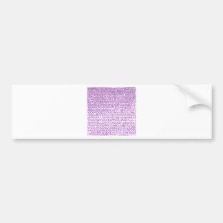 Antique Fuschia Camo Abstract Low Polygon Backgrou Bumper Sticker