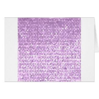 Antique Fuschia Camo Abstract Low Polygon Backgrou Card