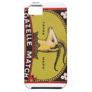 Antique Gazelle Swedish Matchbox Label iPhone 5 Cover