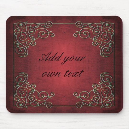 Antique Glamour Mouse Pad