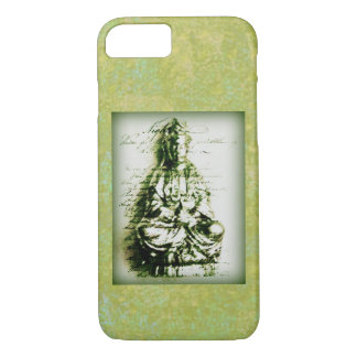 Antique Green Kwan Yin iPhone 8/7 Case