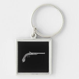 Antique Gun Key Chain