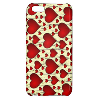 Antique Heart Background iPhone 5C Cover