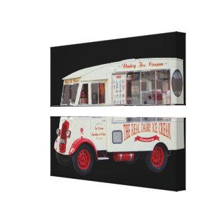 Antique Ice cream Truck Wall Art