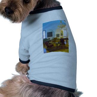 antique interior pet shirt