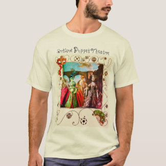 ANTIQUE ITALIAN PUPPETS MASQUERADE MASKS COSTUMES T-Shirt