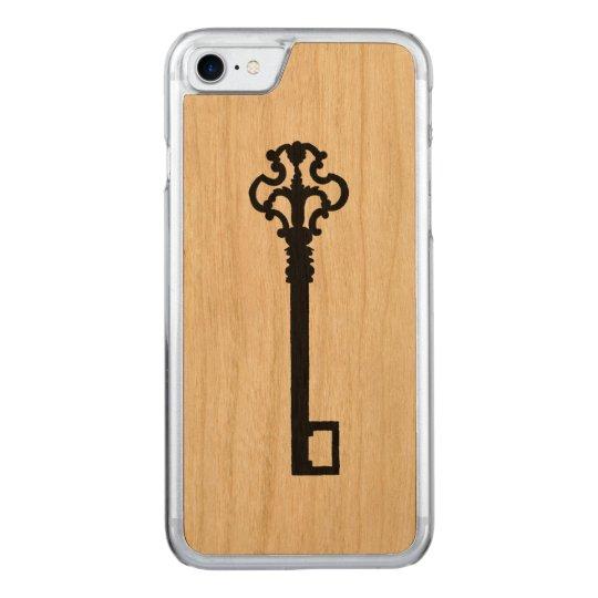 Antique Key Wood iPhone 7 Case