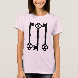 Antique keys cute gothic T-Shirt