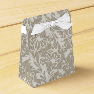 Antique Lace Favor Box