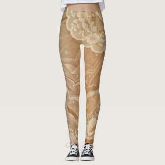 Antique Lace Leggings