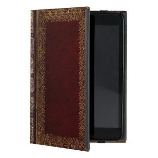 Antique Leather Book Bibliophile Cover For iPad Mini