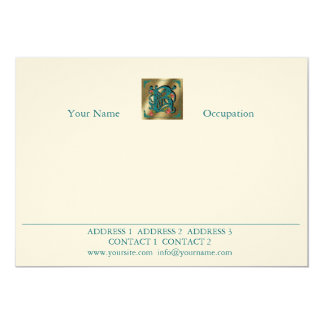 Antique Letter B - Correspondence Card