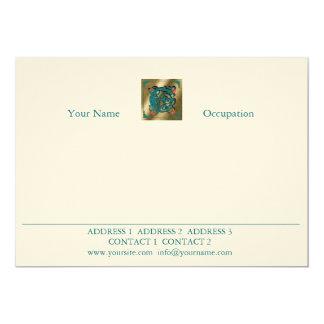 Antique Letter E - Correspondence Card