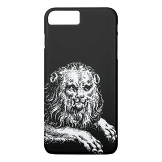 Antique Lion Engraving iPhone 8 Plus/7 Plus Case