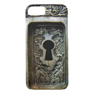 antique lock iphone iPhone 7 case