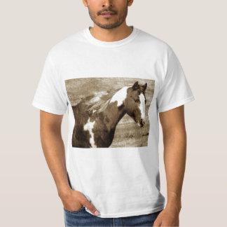 Antique Looking Paint Mare T-Shirt