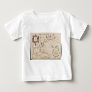 Antique Map Baby T-Shirt