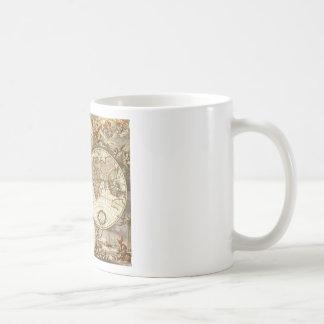 Antique Map Classic White Coffee Mug