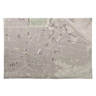 Antique Map of Belgium 2 Place Mats