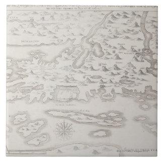 Antique Map of Croatia Ceramic Tiles