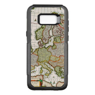Antique Map of Europe OtterBox Commuter Samsung Galaxy S8+ Case