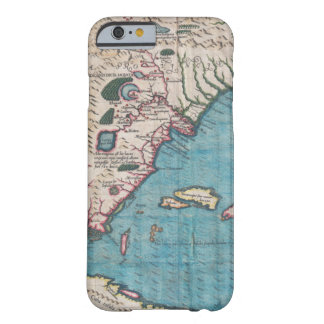 Antique Map of Florida and Cuba Barely There iPhone 6 Case