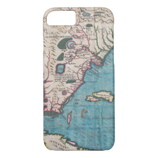 Antique Map of Florida and Cuba iPhone 8/7 Case
