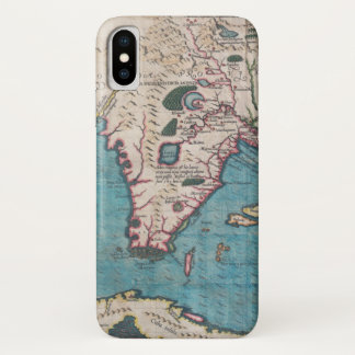 Antique Map of Florida and Cuba iPhone X Case