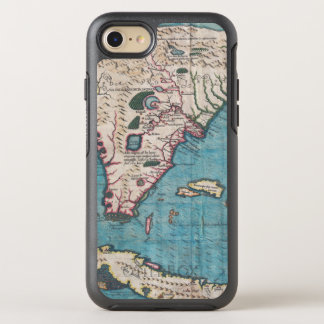 Antique Map of Florida and Cuba OtterBox Symmetry iPhone 8/7 Case