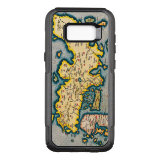 Antique Map of Japan Circa 1590 OtterBox Commuter Samsung Galaxy S8+ Case