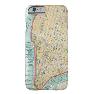 Antique Map of Lower Manhattan and Central Park Barely There iPhone 6 Case
