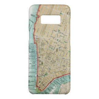 Antique Map of Lower Manhattan and Central Park Case-Mate Samsung Galaxy S8 Case