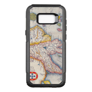 Antique Map of Southeast Asia Circa 1590 OtterBox Commuter Samsung Galaxy S8+ Case