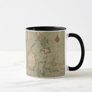 Antique Map of Southeast Asia, Mug