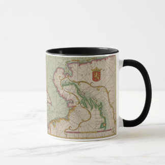 Antique Map of the North Sea, Mug / Cup