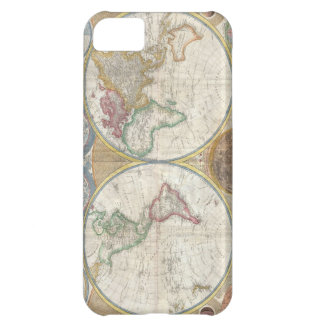 Antique map of the world beautiful detailed, gift iPhone 5C cases